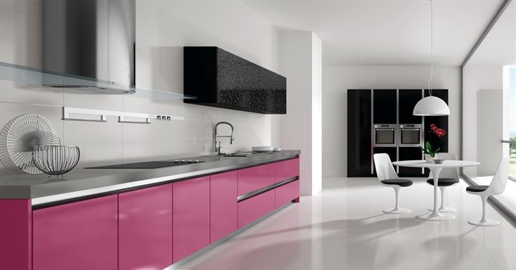 Muebles aguirre muebles que llenan tu vida - Cocinas rosa fucsia ...